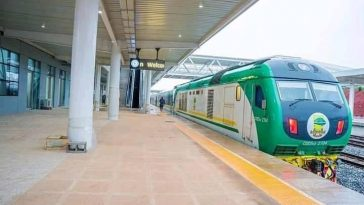 Schedule for Train from Lagos to Ibadan