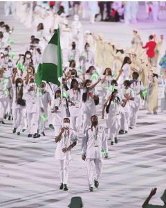 Team Nigeria makes Nigerians proud at the ongoing Tokyo Olympic