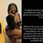 Lyta is a lier, I'm not desperate to had baby with him - Lyta Baby mama share evidence