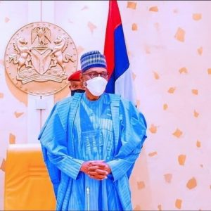 I Wouldn't Leave Aso Rock 'Until' - Buhari vowed