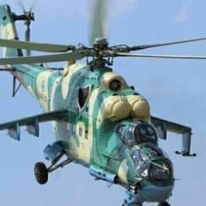 Helicopter open fire for commercial boat in Port Harcourt, many fear killed