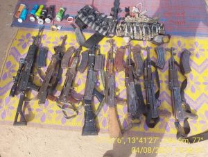 Things getting tougher for terrorist as military bombardment continue - More B'Haram/ISAWP surrender