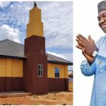 Enugu Governor rebuilt destroyed Mosque and hands it over to Muslims community in Nsukka