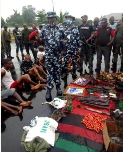 Sit-at-home: How 29 IPOB/ESN arrested for enforcing order in Imo state