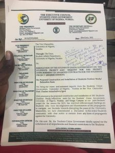 How University of Nigeria Students Union Embezzled N65.3 Millions meant for students