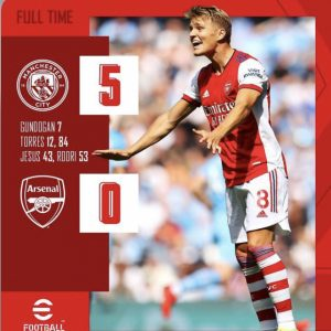 All my children must support Arsenal or facing banishing - Die hard fans vow after 5-0 lost Man City