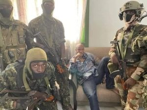 Coup d ' etat in Guinea: Colenel Momady Doumbouya led successfully Coup in Guinea