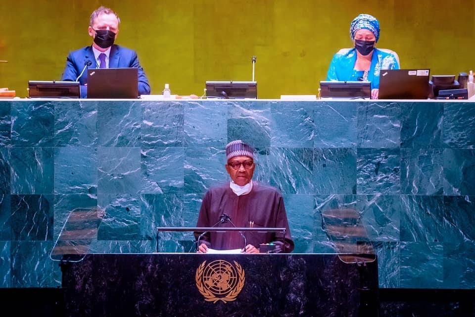 How will deal with terrorists organization Nigeria - Buhari at UN 76th General Assembly