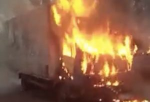 Sit-At-Home: Goods worthy millions burnt in Enugu by IPOB/ESN (Watch Video)