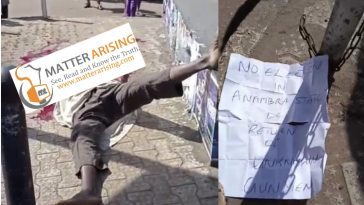 No Election in Biafra: IPOB/ESN drop note after behead man in Anambra state