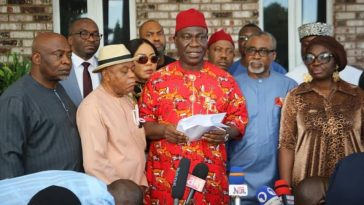 SouthEast political gladiators condemned destruction of properties by IPOB/ESN