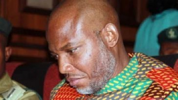Nnamdi Kanu in fresh trouble as FG files murder, destruction of properties and others cases
