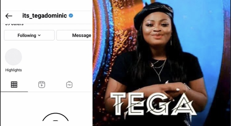 Depression: I'm mentally exhausted says BBNaija's Tega as she deactivated Instagram
