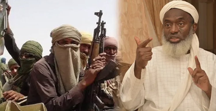 """Treat bandits with respect, they have children, wife stop killing them - Sheikh Gumi Matters Arising learnt that, the Islamic cleric Sheikh Ahmad Gumi has asked that bandits ravaging villages, abducting school children and killing Nigerians be respected and accorded human rights. """"The bandits also have empathy as we have; they have families, children. The first step is to use psychology on them. They aired their grievances and are ready to change. """"They should be respected and should be given all the human rights everybody has,"""" Mr Gumi said Thursday at a peace conference by the Center for the Advancement of Human Dignity and Value held at Arewa House in Kaduna. A self-appointed mediator for bandits, Mr Gumi, said instead of Nigeria increasing military spending, a third of such funds should be used on the bandits to end banditry in the country. """"Some are suggesting killing them. All because they are killing. For three year's you have spent $1 billion, and now you need another $1 billion. But, I said one-third of that will enlighten them, and they will stop killing. Have you tried it? Nobody tried it,"""" Mr Gumi said. Contrary to Mr Gumi's stance, Katsina Governor Aminu Masari said he regrets that bandits have continued with their nefarious activities despite being granted amnesty. In several coordinated attacks, the criminals have kidnapped hundreds across North-East states, forcing school closure in Kaduna, Katsina, Kebbi, Niger and Zamfara at different points. In July, bandits blew off a Nigerian Airforce jet in Zamfara and raided the Nigerian Defence Academy Kaduna in August, killing two."""