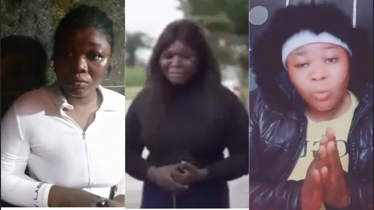 Video: TikTok girl Pery1056 make first appearance online after survive dehumanizing by cultists