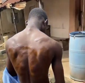 Video: Islamic School proprietor order merciless beaten of his students for attends friends birthday party