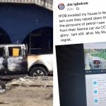 Jeo Igbokwe house, Police, SSS office attacks by unknown gunmen in Nnewi