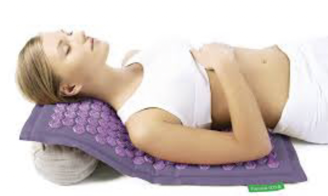 Acupressure mat for weight loss